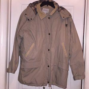 Khaki Winter Coat